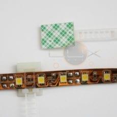 Abraçadeira c/ autocolante Fitas LED