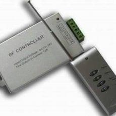 Controlador LED RGB 11 prog / 7 cores + comando Impermeável