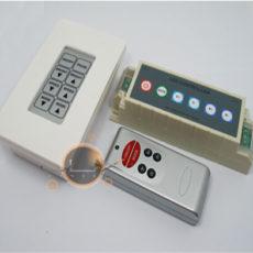 Controlador LED RGB 21 prog / 7 cores + comando parede