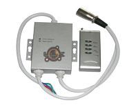 Controlador LED RGB DMX 11 prog / 7 cores + comando