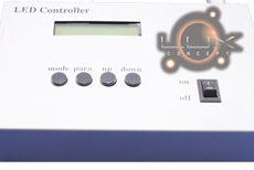 Controlador LED RGB DMX 36 prog - 16 milhões cores 24V