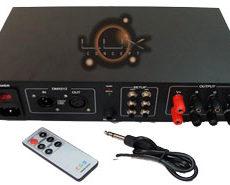 Controlador LED RGB DMX 6 canais c/ transf. 300W 24V