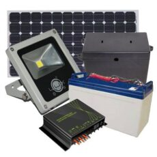 Kit Projetor Solar LED