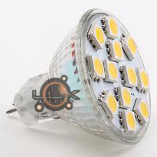 Lâmpada LED 12x SMD 5050 MR11 2