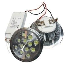 Lâmpada LED AR111 12W