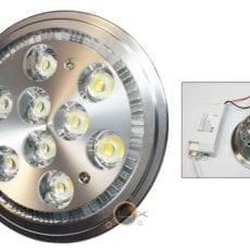 Lâmpada LED AR111 9W