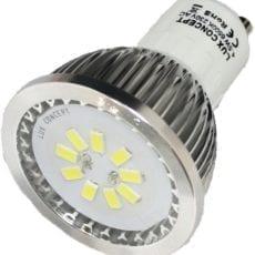 Lâmpada LED GU10 4