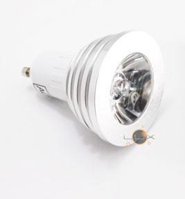 Lâmpada LED GU10 5W RGB