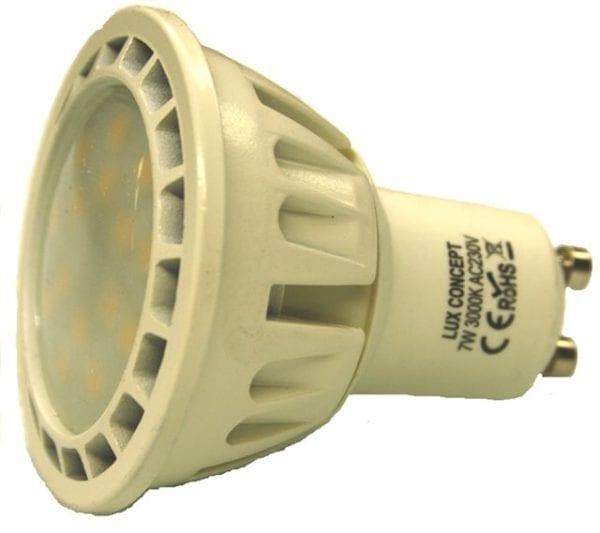 Lâmpada LED GU10 7W