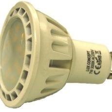 Lâmpada LED GU10 Dimável 6W Opaca