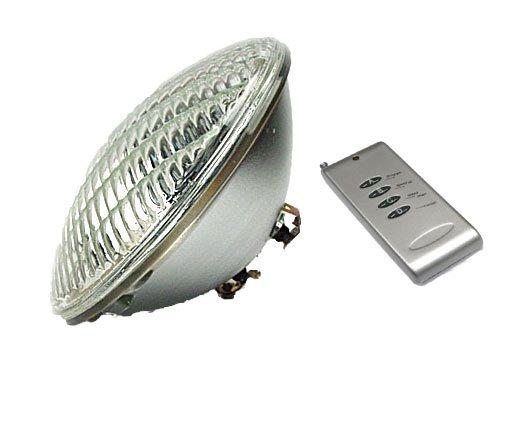 Lâmpada LED PAR 56 RGB + Controlo Remoto (Piscinas)