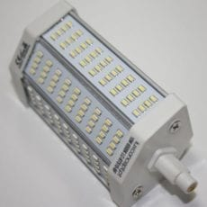 Lâmpada LED R7S 118mm 10W