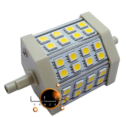 Lâmpada LED R7S 79mm 6W