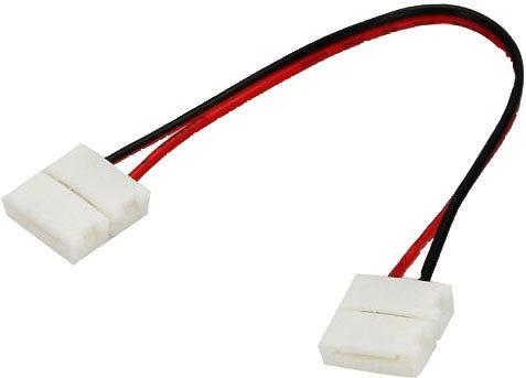 Ligador Duplo Fitas LED 8 mm c/ cabo