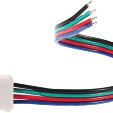 Ligador Fitas LED 10 mm/RGB c/ cabo