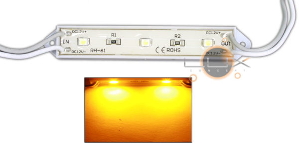 Módulo 3 LED SMD 3528 0