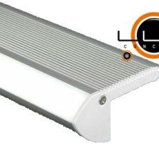 Perfil LED Alumínio Degrau 66x28mm