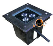 UpLight LED Quadrado 3W