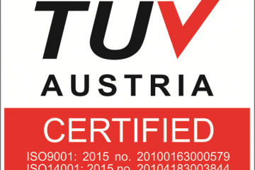 Lux Concept is Certified ISO9001:2015 & ISO14001:2014 by TUV