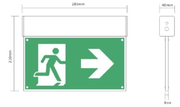 Bloco Emergência LED 2820