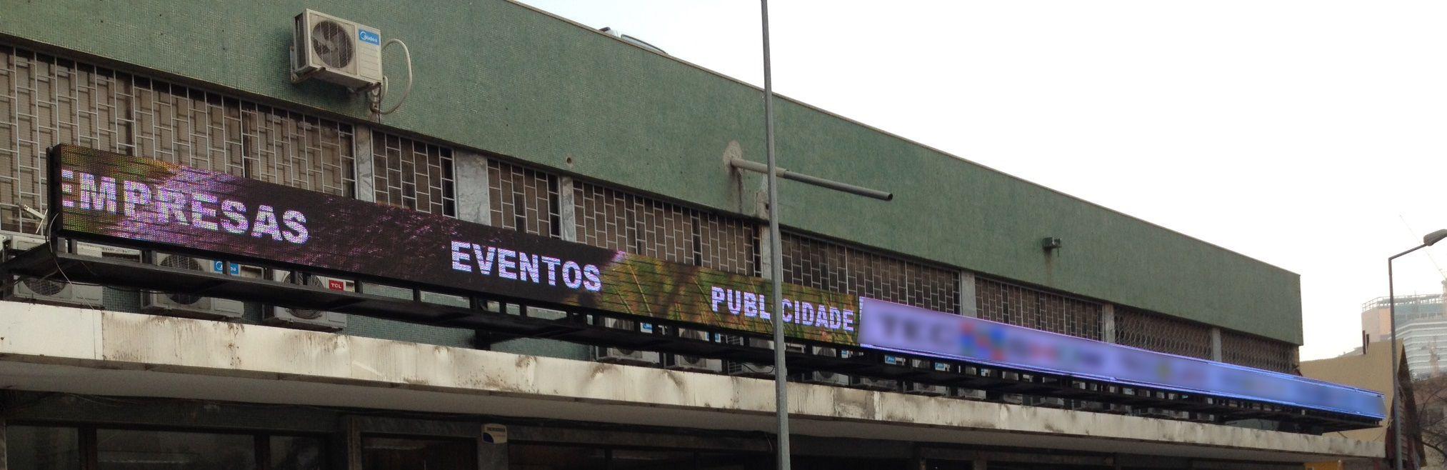 Ecrã LED – Luanda