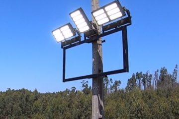 Iluminação LED Desportiva