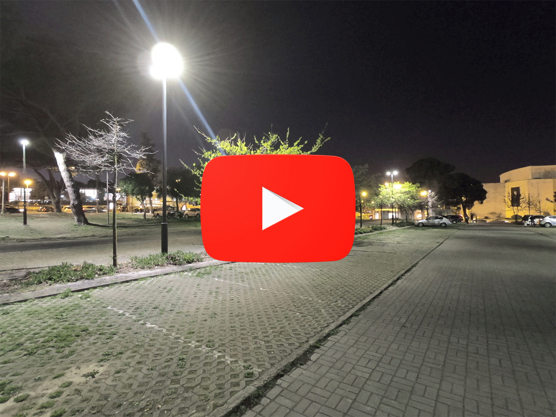 Luminária LED Roma na Universidade de Lisboa